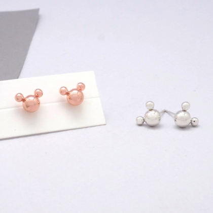 925 Sterling Silver Tiny Mickey Mou..