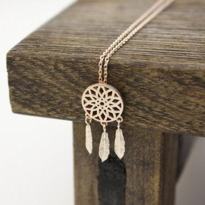 Dreamcatcher Necklace Dream Catcher..