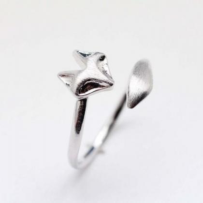 Fox ring, Fox Tail Adjustable Ring ..