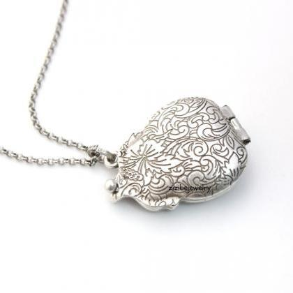 Antique Vintage purse Locket Neckla..