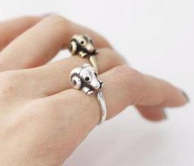 Cute Sheep ring, Ram..