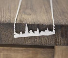 Cityscape Necklace, ..