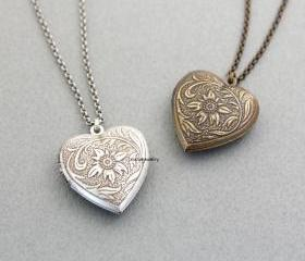 Antique style Heart ..