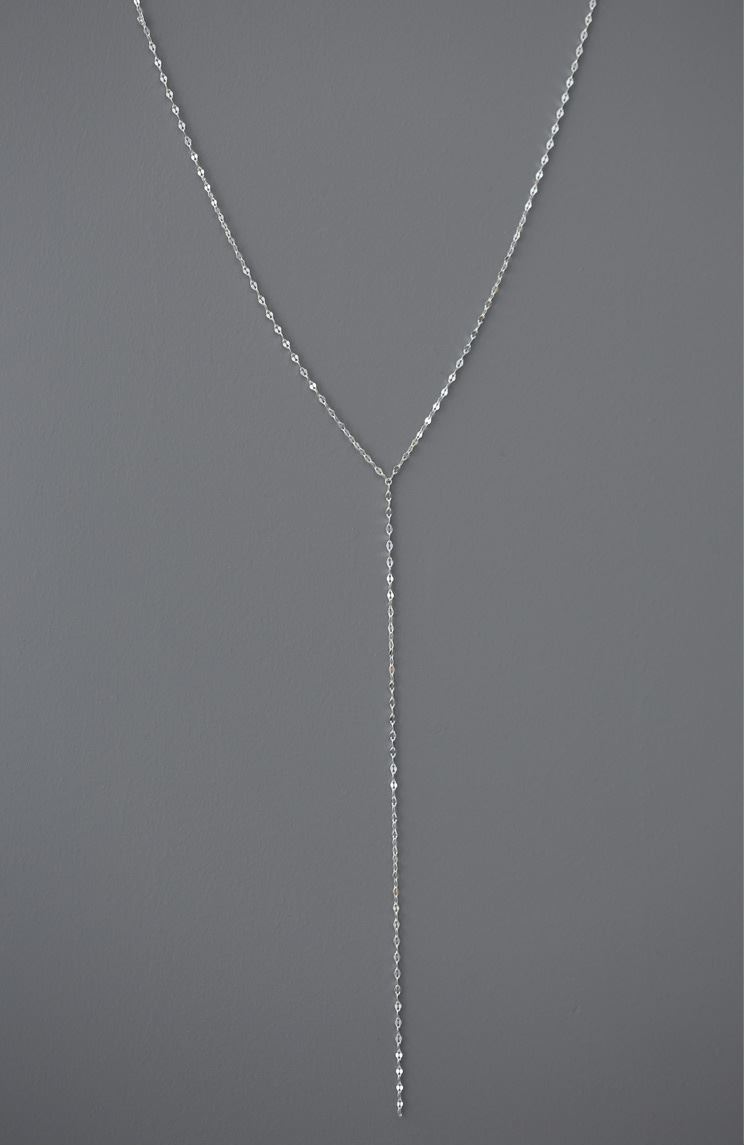 925 Sterling Silver Pressed Long Chain