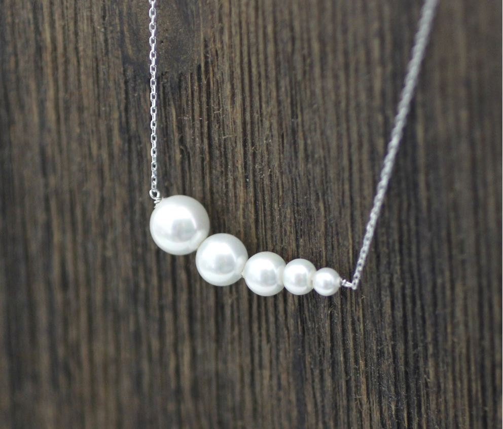 fashion silver bun elegant statement jewelry steamed store sterling pendant necklace necklaces pearls product