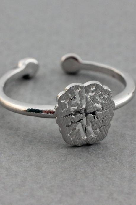 EINSTEIN Brain Ring, Anatomy Brain Ring, Brain jewelry