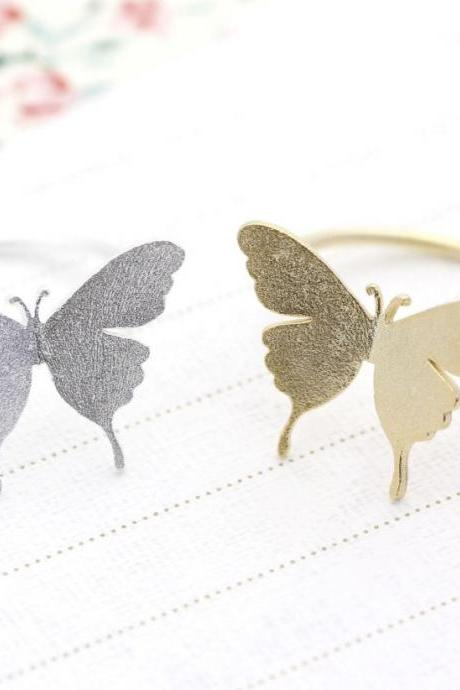 Butterfly Statement ring in 2 colors