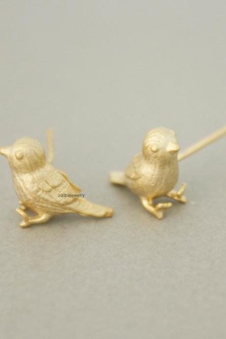 Little Sparrow Stud Earrings in gold /silver, E0744G